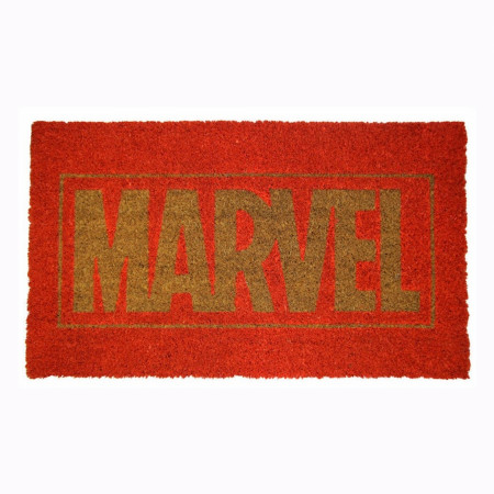 "Marvel Title Text 17""x 29"" Doormat with Non-skid Back"