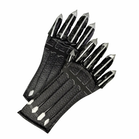 Black Panther Deluxe Kids Costume Gloves