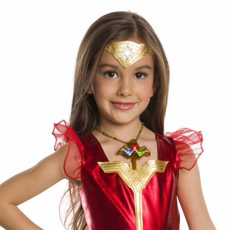 Wonder Woman Youth Deluxe Light Up Costume Necklace