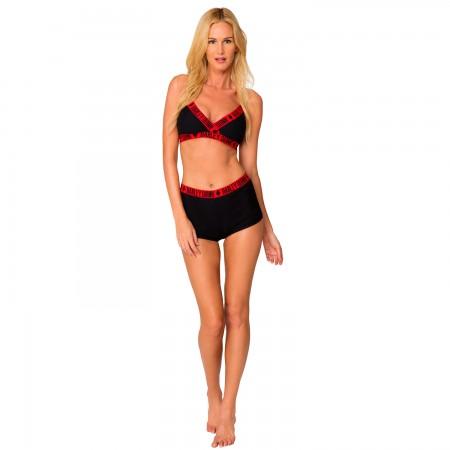 Harley Quinn Ladies High Waist Underwire Bikini