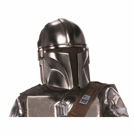 Star Wars The Mandalorian Vibrant Polished Youth Half Mask