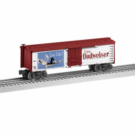 Anheuser-Busch Live Life Budweiser Lionel Reefer Train Car