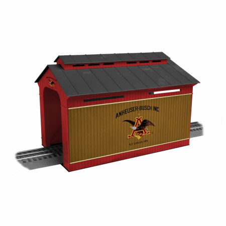Anheuser-Busch Covered Bridge For Train Set