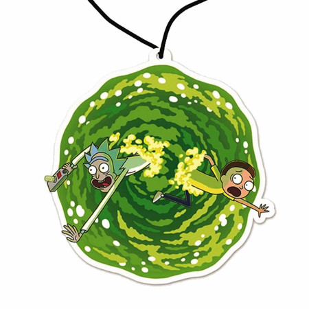 Rick and Morty Portal Air Freshener