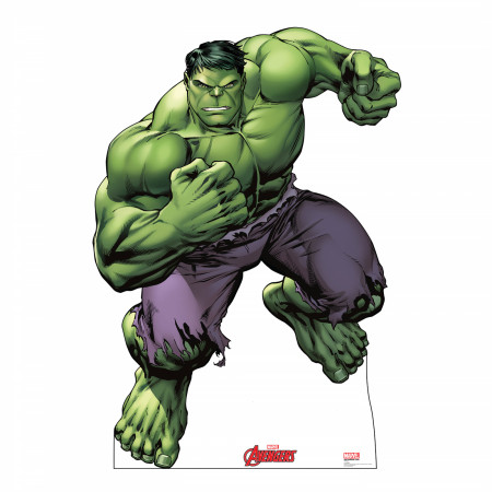Avengers Animated Incredible Hulk Cardboard Stand Up
