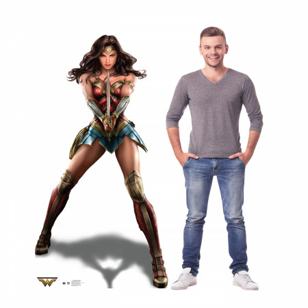 Wonder Woman Cardboard Stand Up