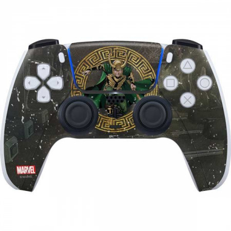 Loki Ready For Battle PS5 Controller Skin