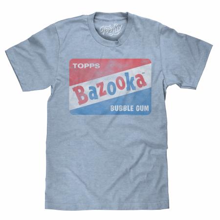 Bazooka Gum Blue T-Shirt