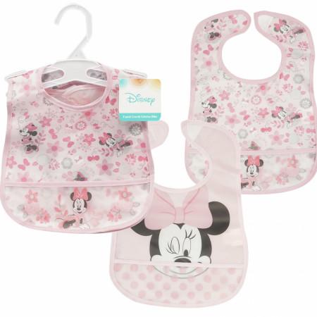 Disney Minnie Mouse Crumb Catcher Bib 2-Pack