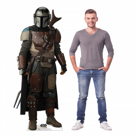 Star Wars The Mandalorian Cardboard Stand Up