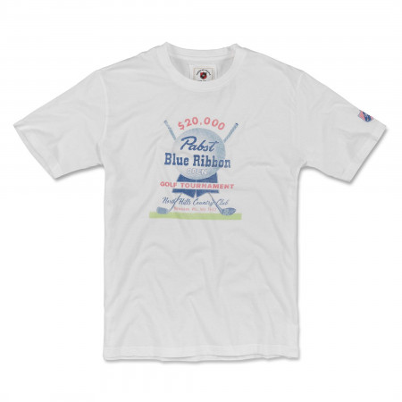 Pabst Blue Ribbon Golf Tourament T-Shirt