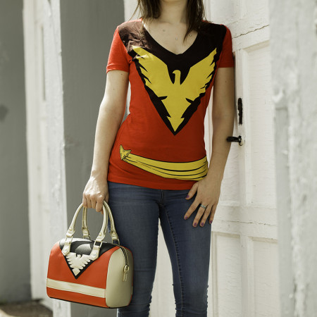X-Men Dark Phoenix Handbag with Shoulder Strap