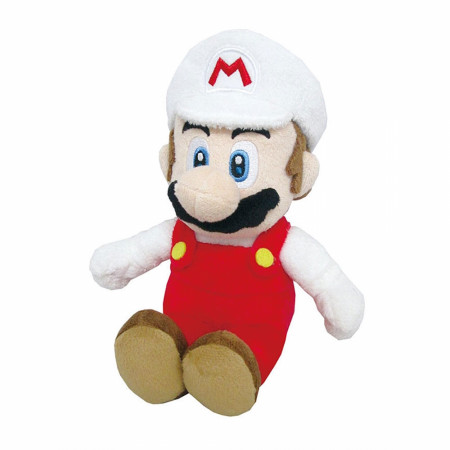 "Nintendo Super Mario Bros. Fire Mario 10"" Plush Toy"