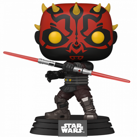 Star Wars Darth Maul Clone Wars Funko Pop! Vinyl Figure