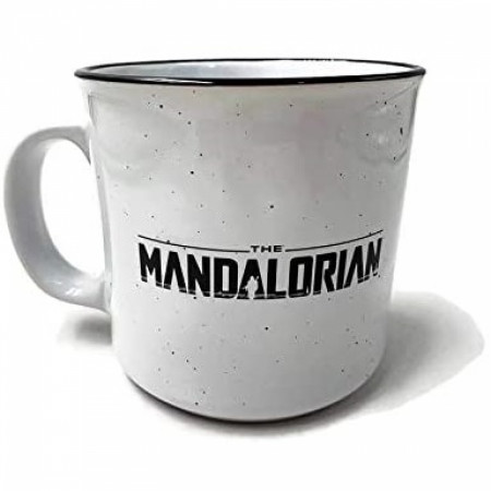 The Mandalorian Helmet 20 Ounce Camper Mug