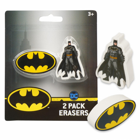 Batman 2-Pack Erasers