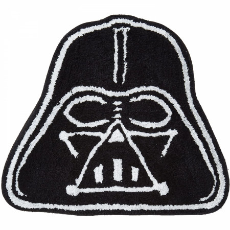 Star Wars Saga Darth Vader Shaped Bath Rug