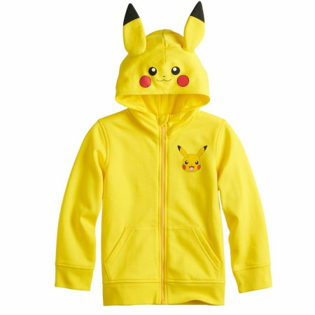 Pokemon Pikachu Costume Youth Hoodie