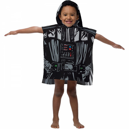 Star Wars Darth Vader Youth Hooded Poncho Towel