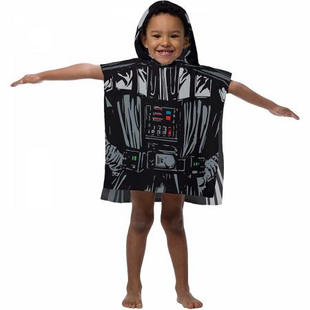 Star Wars Darth Vader Youth Hooded Poncho Towel