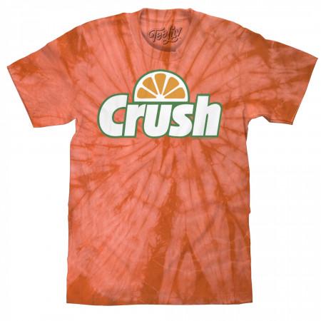 Crush Orange Logo Tie Dye T-Shirt