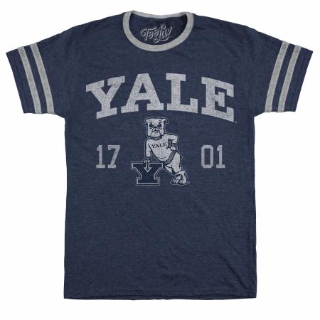 Yale Bulldogs Blue Jersey T-Shirt