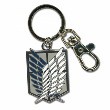 Attack On Titan Scouts Regiments Emblem Keychain