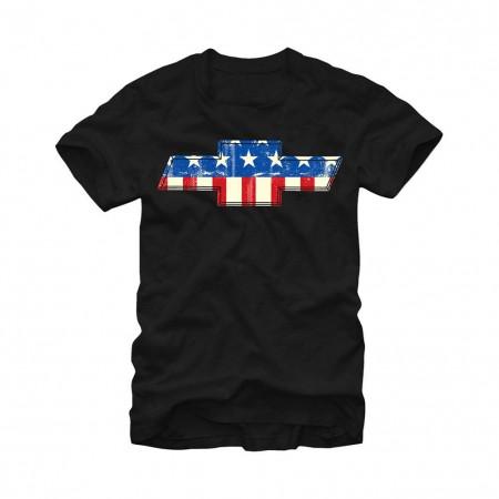 Chevrolet General Motors GMerica Black T-Shirt