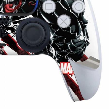 Marvel Comics Venom Slashes PS5 Controller Skin