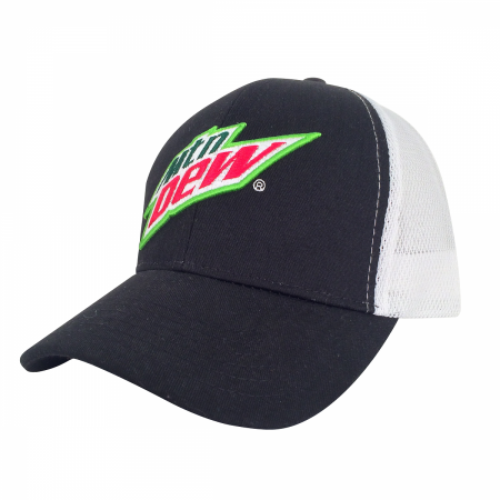 Mountain Dew Grey Trucker Hat