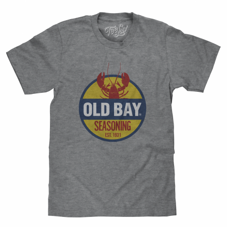 Old Bay Seasoning Grey T-Shirt