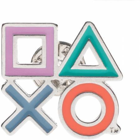 Playstation Icon Lapel Pin