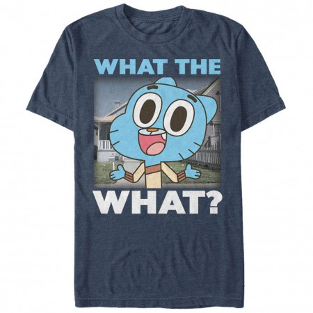 Gumball What the What Blue T-Shirt