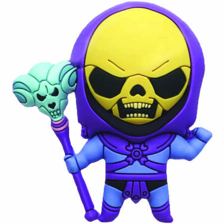 He-Man Masters of the Universe Skeletor Chibi Character 3D Foam Magnet