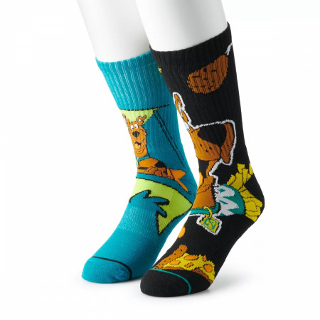 Scooby Doo Mystery Machine and Scooby Snacks 2-Pack Athletic Crew Socks