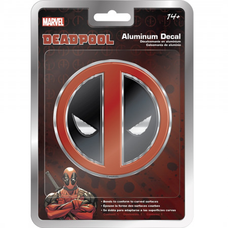 Deadpool Logo Aluminum Car Decal