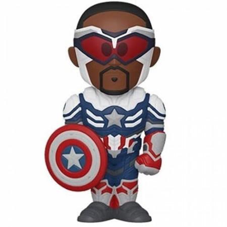 The Falcon and The Winter Soldier New Captain America Funko Vinyl Soda
