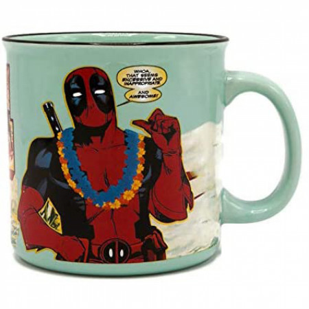 Deadpool Greetings 20 Ounce Ceramic Mug