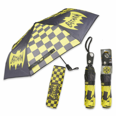 Batman Black and Yellow Umbrella