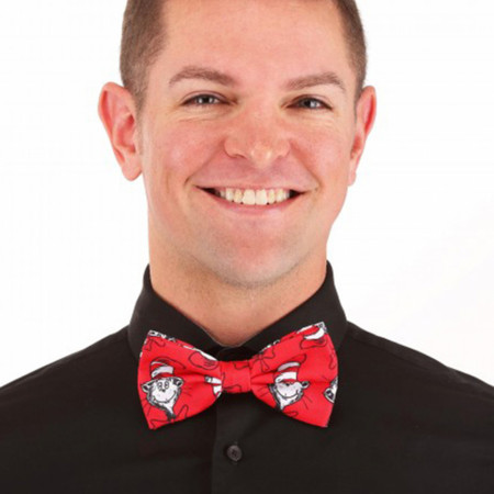 Dr. Seuss The Cat the Hat Character Bow Tie