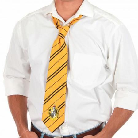 Harry Potter Hufflepuff House Crest Necktie