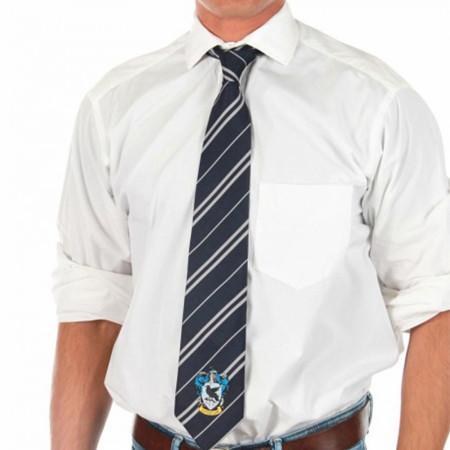 Harry Potter Ravenclaw House Crest Necktie
