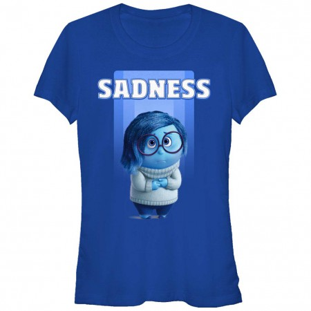 Disney Pixar Inside Out Sadness Blue T-Shirt
