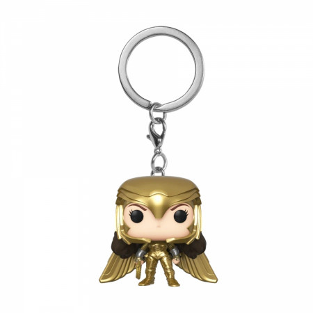 Funko Pop! Keychain: WW 1984 - Wonder Woman Gold Power Pose