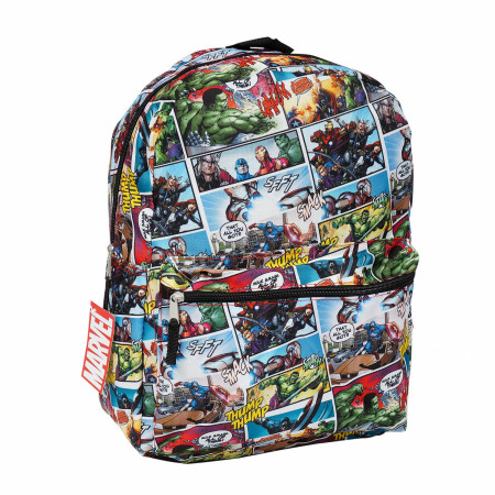 Marvel's Avengers Comic Panels All Over Print Backpack