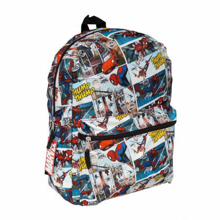 Marvel's Spider-Man Comic Panels All Over Print Backpack