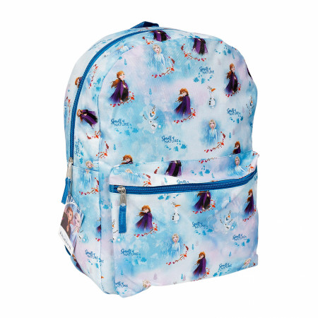 Frozen 2 Elsa, Anna and Olaf All Over Print Backpack