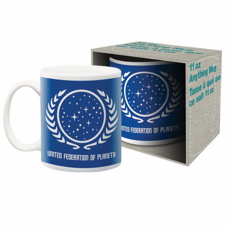 Star Trek United Federation of Planets Ceramic Mug