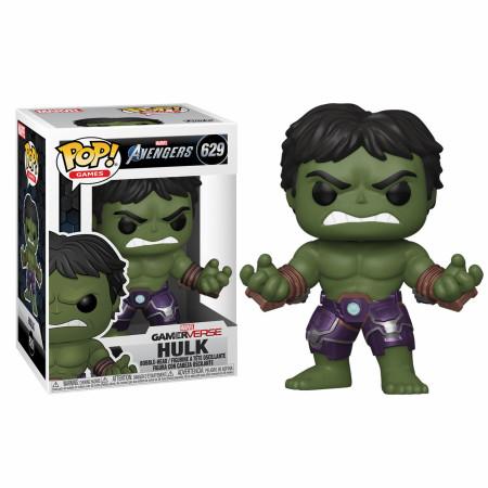 Marvel: Avengers Game Hulk (Stark Tech Suit) Funko Pop!