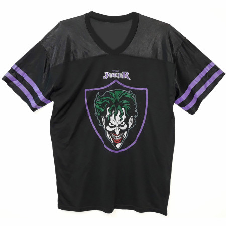 The Joker HaHaHa Men's Black Football Jersey
